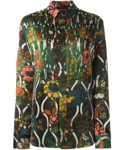 Michel Klein | Arts Nouveau Print Shirt 38 Silk