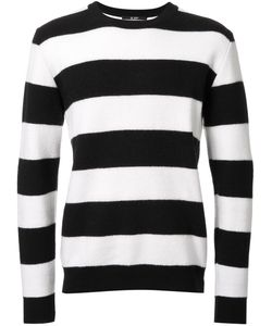 HL HEDDIE LOVU | Striped Jumper Small Wool