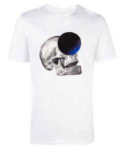 Cy Choi   Skull Print T-Shirt Small Cotton