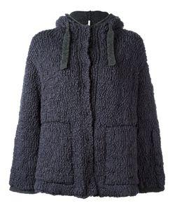 Boboutic   Double Knit Hooded Cardigan Medium Polyamide/Spandex/Elastane/Wool/Yak