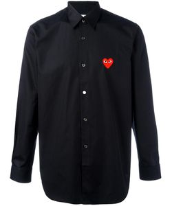 Comme des Gar ons Play | Comme Des Garçons Play Embroidered Heart Shirt Small