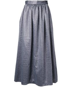 INGIE PARIS | Woven Effect Full Skirt 46 Acrylic/Polyester/Wool/Polyimide
