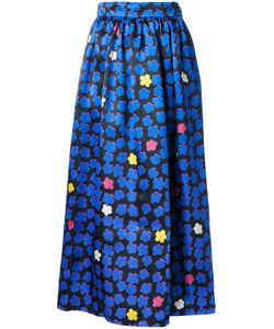 INGIE PARIS | Jacquard Full Skirt 42 Silk/Polyester