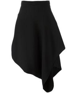 J.W. Anderson | J.W.Anderson Asymmetric Hem Skirt 8 Silk/Polyester/Acetate/Triacetate