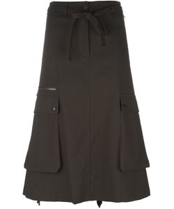 Helmut Lang | Cargo Pocket Skirt 2 Cotton