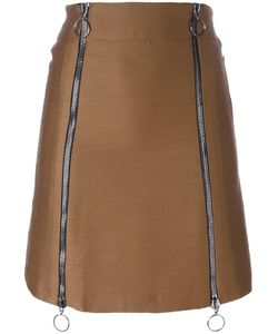 ETIENNE DEROEUX   Leona Skirt 38 Silk/Polyester/Acetate/Bemberg