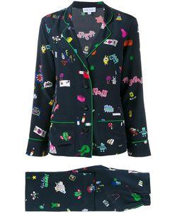 Mira Mikati | Printed Pyjama Suit 36 Silk