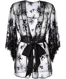Loveday London | Oncilla Boudior Kimono Small Lamb Skin/Nylon/Rayon