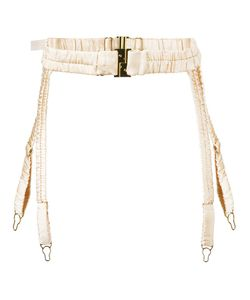 Dolci Follie   Heiress Suspender Belt Large Silk/Spandex/Elastane