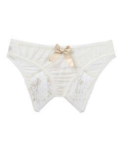 LASCIVIOUS | Kitty Sarah Lou Ouvert Brief Small Cotton/Polyamide/Spandex/Elastane