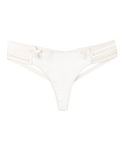 Bordelle | Webbed Thong Small Silk/Spandex/Elastane/Viscose