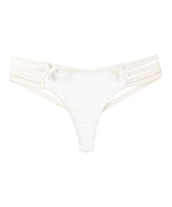 Bordelle   Webbed Thong Small Silk/Spandex/Elastane/Viscose