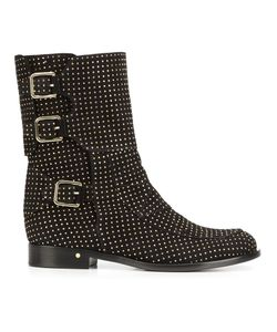 Laurence Dacade   Rick Studded Ankle Boots 37.5 Leather/Suede