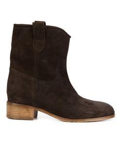 CHUCKIES NEW YORK | Stacked Heel Ankle Boots 37