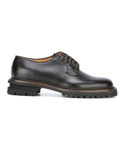 Premiata | Ridged Sole Derby Shoes 9 Leather/Rubber