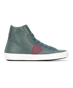Philippe Model | Classic Hi-Top Sneakers 40 Cotton/Leather/Rubber