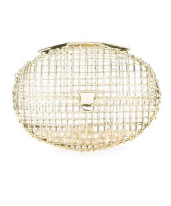 Anndra Neen | Oval Cage Pearl Clutch Adult Unisex