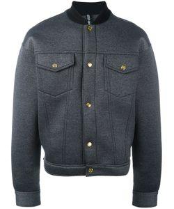 Astrid Andersen | Buttoned Bomber Jacket Large Nylon/Polyester/Spandex/Elastane