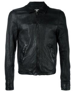 Pihakapi | Leather Bomber Jacket Large Lamb Skin/Viscose