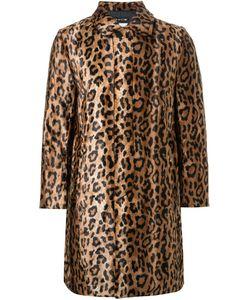 DRESS CAMP | Dresscamp Leopard Print Coat Adult Unisex Large Rayon