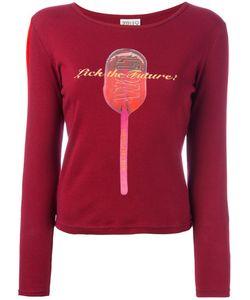 WALTER VAN BEIRENDONCK VINTAGE   Lick The Future Print T-Shirt