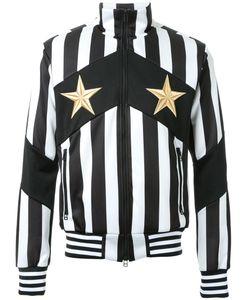 DRESS CAMP | Dresscamp Striped Zipped Sweatshirt 48 Polyester