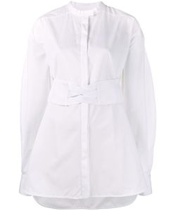 Ellery | Corset Belt Shirt 10 Cotton