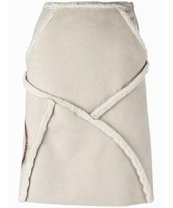 WALTER VAN BEIRENDONCK VINTAGE | Panelled A-Line Skirt Small