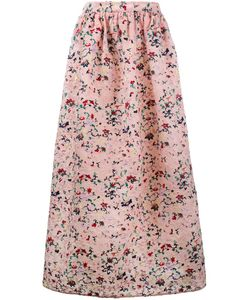Huishan Zhang | Embroidered Soft Pleated Skirt 12