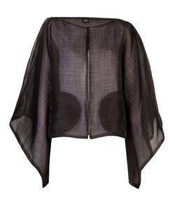 FERNANDA YAMAMOTO | Textured Kimono Jacket P Polyester