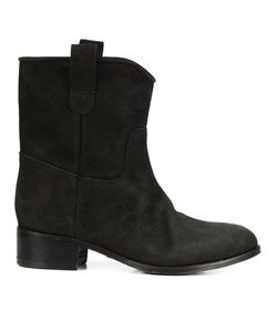 CHUCKIES NEW YORK | Stacked Heel Ankle Boots 41