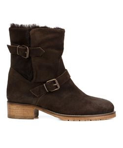 CHUCKIES NEW YORK | Buckle Strap Ankle Boots 38.5