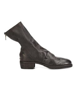 GUIDI | Rear Zip Boots 43 Leather
