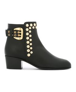 Giuseppe Zanotti Design | Studded Ankle Boots 35 Leather