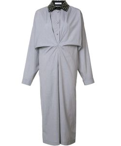 J.W. Anderson | J.W.Anderson Gathered Shirt Dress 8 Cotton
