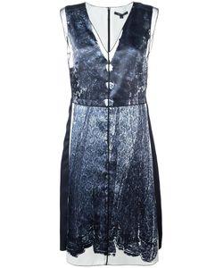 Marc Jacobs | Trompe-Lail Lace Print Dress 4 Silk/Polyester