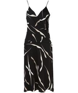 Diane Von Furstenberg | Brenda Dress 8 Polyester/Silk/Spandex/Elastane
