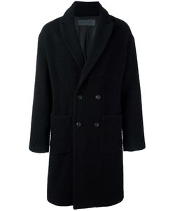 ROUTE DES GARDEN | Single Breasted Coat 46 Wool/Viscose