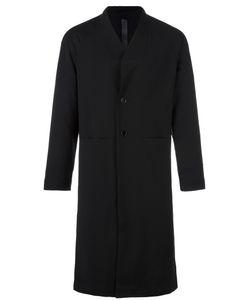 Odeur | Box Single Breasted Coat Adult Unisex Medium Wool/Spandex/Elastane