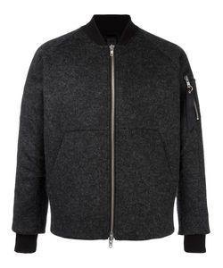 Odeur | Lazer Cut Bomber Jacket Adult Unisex Small Polyester/Spandex/Elastane/Viscose/Virgin