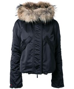 KRU | Fur Hood Puffer Jacket Medium Polyester
