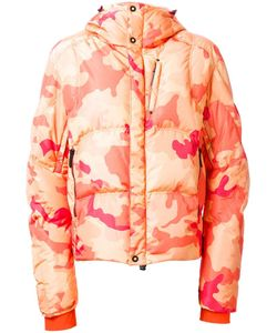 KRU | Camouflage Hooded Padded Jacket Medium Polyester