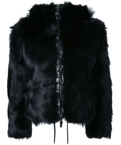 KRU | Fur Reversible Hooded Jacket Xs Polyester