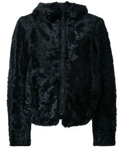 KRU | Faux Fur Zip-Up Jacket Medium Polyamide/Polyester