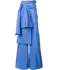 Rosie Assoulin | Oversized Bow Trousers 4 Silk