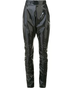 Les Animaux | Baggy Narrow-Leg Trousers 40 Nylon/Polyester