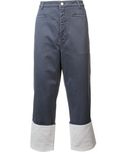 Loewe   Wide-Leg Jeans 48 Cotton