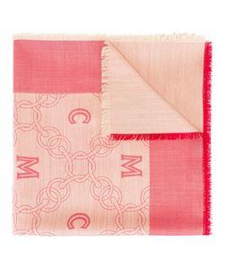 MCM   Logo Print Scarf Silk/Wool
