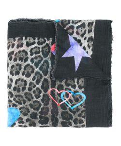Ottotredici | Leopard Print Scarf Modal/Cashmere