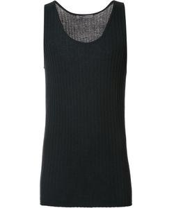 Denis Colomb   Ribbed Tank Top Medium Silk/Cashmere